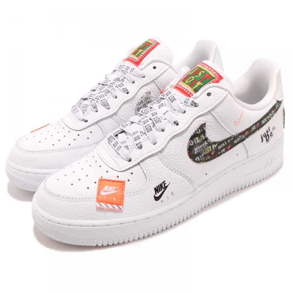 new products c4630 d5d43 Air Force 1 Low Just Do It Pack White