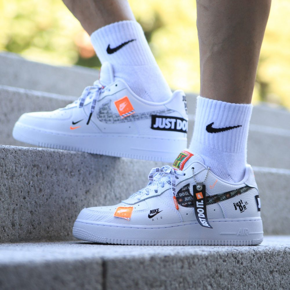 best sneakers 8a5ef 3475b Air Force 1 Low Just Do It ...